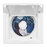 Amana 3.5 Cu. Ft. Top-Load Washer With Dual Action Agitator - White