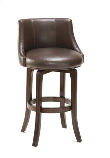 Napa Valley Counter Stool - Dark Brown Bonded Leather