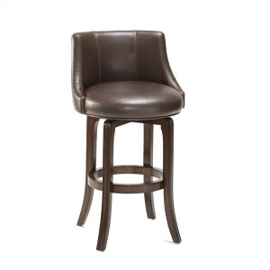 Hillsdale FurnitureNapa Valley Counter Stool - Dark Brown Bonded Leather