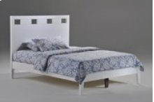 Tamarind Bed in White Finish