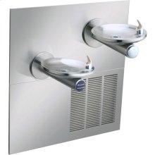 Elkay SwirlFlo Fountain Bi-Level Reverse ADA Hands-Free, Non-Filtered 8 GPH Stainless