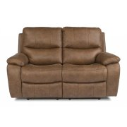 Hendrix Fabric Power reclining Loveseats with Power Headrests Product Image
