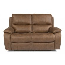 Hendrix Fabric Power reclining Loveseats with Power Headrests