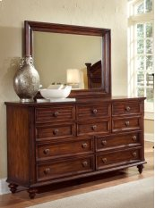 Compass Rose Dresser & Mirror