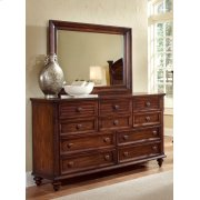 Compass Rose Dresser & Mirror Product Image