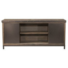 4022891 in by hillsdale furniture in artesia nm jennings jennings entertainment center with 4 shelves and sliding door distressed walnut solutioingenieria Images