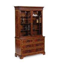 Late Regency Mahogany Glazed Display Cabinet