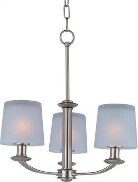 Finesse 3-Light Chandelier