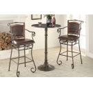Rustic Dark Russet and Antique Bronze Counter-height Table Product Image