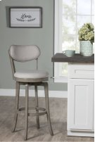 Sloan Swivel Counter Stool - Aged Gray Product Image