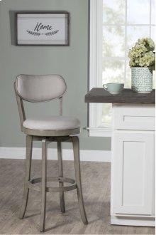 Sloan Swivel Counter Stool - Aged Gray