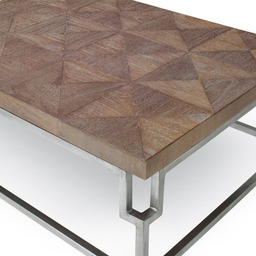 Rectangular Cocktail Table - Brown