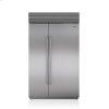 "Sub-Zero 48"" Classic Side-By-Side Refrigerator/freezer With Internal Dispenser"