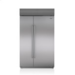 "SUB-ZERO48"" Classic Side-by-Side Refrigerator/Freezer with Internal Dispenser"