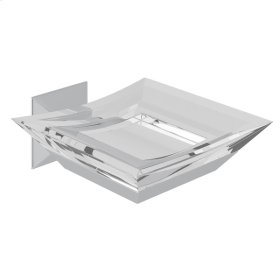 Polished Chrome Vincent Wall Mount Soap Dish