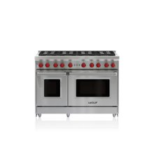 "48"" Gas Range - 8 Burners"