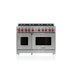 "Wolf  48"" Gas Range - 8 Burners"