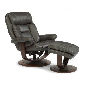 FLEXSTEELHOMEHunter Fabric Chair and Ottoman