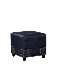 Meander Blue Ottoman Product Image
