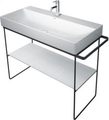Chrome Durasquare Metal Console Floorstanding
