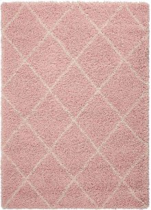 Brisbane Bri03 Blush Rectangle Rug 5' X 7'