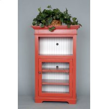 "#530 Kelsey's Cabinet 28""wx15""dx45.5""h"