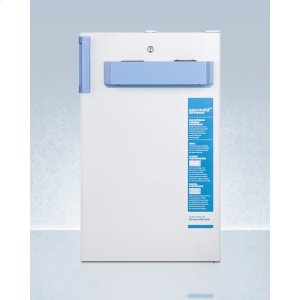 SummitBuilt-in Undercounter Medical/scientific All-freezer In ADA Height, With Front Control Panel Equipped With A Digital Thermostat and Nist Calibrated Thermometer/alarm