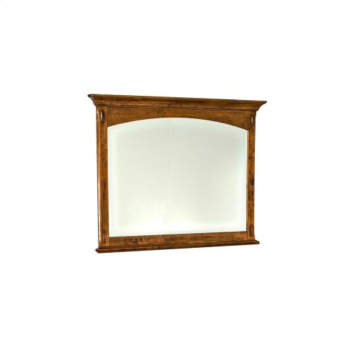 Bedroom - Pasadena Revival Landscape Mirror