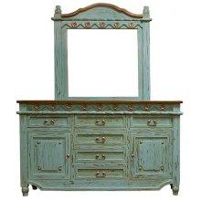 Turquoise Grande Door Dresser