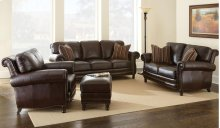 """Chateau Loveseat, 64""""x43""""x37"""" w/ Two Accent Pillows"""