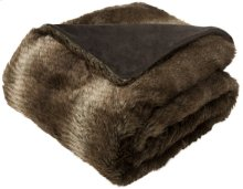 FAUX LUXE BRICK THROW - Chocolate - Chocolate