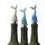 Additional Mermaid Tail Bottle Stopper (3 asstd)
