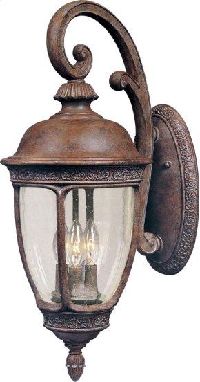 Knob Hill VX 3-Light Outdoor Wall Lantern