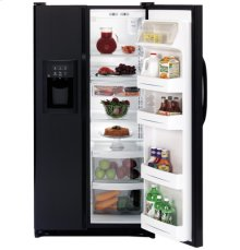 GE® ENERGY STAR® 21.9 Cu. Ft. Capacity Side-By-Side Refrigerator with Dispenser