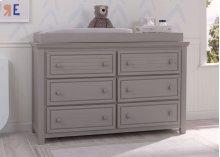 Oakmont 6 Drawer Dresser - Rustic Haze (940)