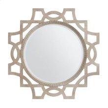 Juniper Dell Accent Mirror in Tarnished Silver Leaf