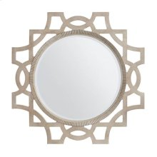Juniper Dell Accent Mirror in Tarnished Silver Leaf