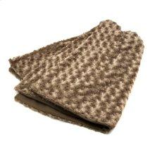 Omari Brown Throw Blanket