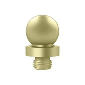 "Ball Tip for 6"" x 6"" Hinges - Unlacquered Brass"