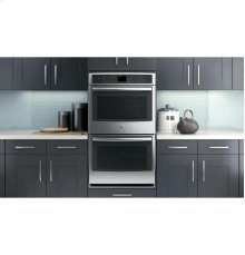 """GE Profile Series 30"""" Built-In Double Convection Wall Oven"""