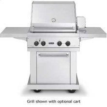 """30"""" Ultra-Premium T-Series Grill - VGBQ (30"""" wide with two standard 25,000 BTU stainless steel burner grill areas (LP/Propane))"""