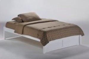 K-Series Basic Bed in White Finish