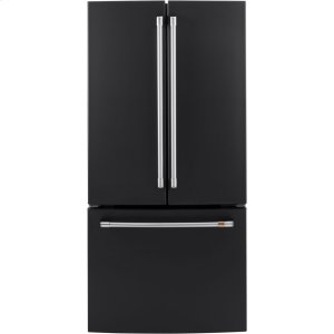 ENERGY STAR ® 18.6 Cu. Ft. Counter-Depth French-Door Refrigerator - MATTE BLACK