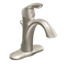 Eva brushed nickel one-handle bathroom faucet