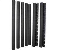 Black Extended-Height Pillars for audio base (model EFAB) or video stand (model EFAV)