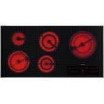 MieleElectric cooktop in maximum width for the best possible cooking and user convenience.
