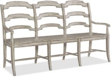 Boheme Du Monde Ladderback Dining Bench