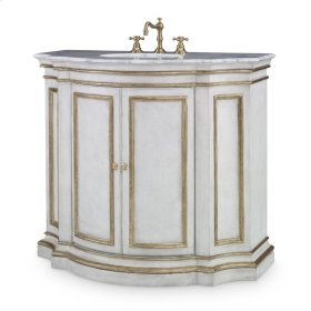 Conference Sink Chest - White