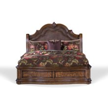 San Mateo Sleigh Style King / California King Footboard