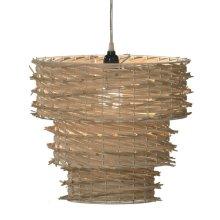 Natural Weave Pendant Lamp 100W Max